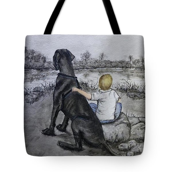 The Ultimate Best Friend Tote Bag by Kelly Mills