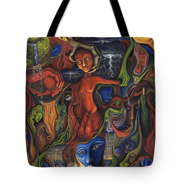 The Ultimate Conflict Tote Bag by Karen Musick