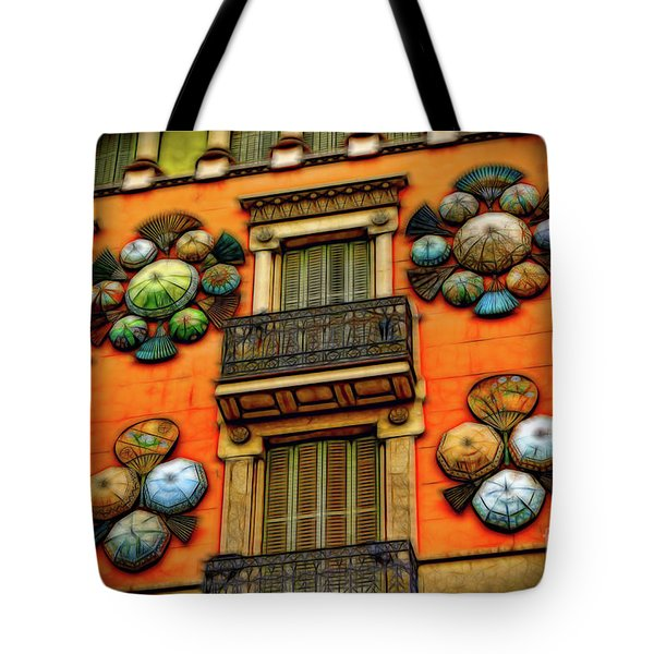 The Umbrella Shop Tote Bag