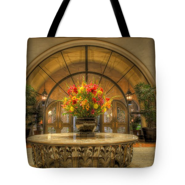 The Uncentered Centerpiece Tote Bag