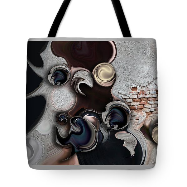 The Unconscious Reality Tote Bag by Carmen Fine Art