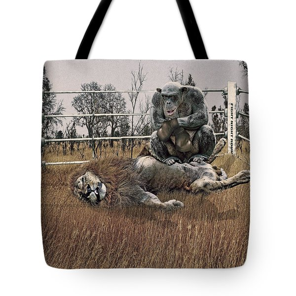 The Undefeated Chump Tote Bag