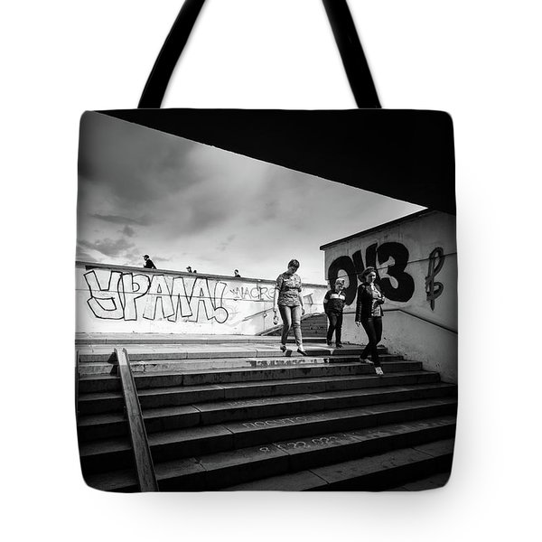 The Underpass Tote Bag