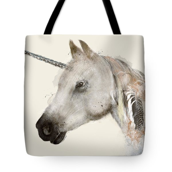 The Unicorn Tote Bag by Bri B