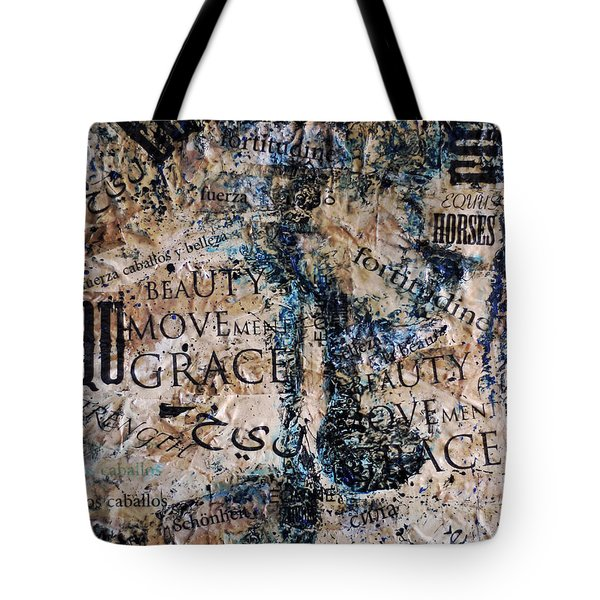 The United Horse Tote Bag by Jennifer Godshalk