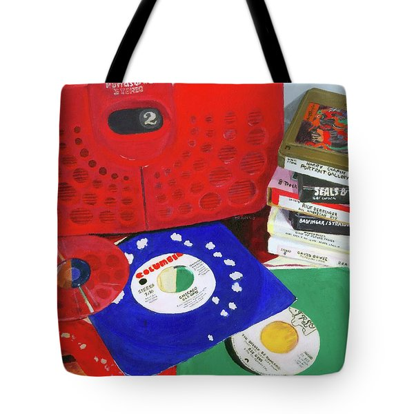 Tote Bag featuring the painting The Universal Language by Lynne Reichhart