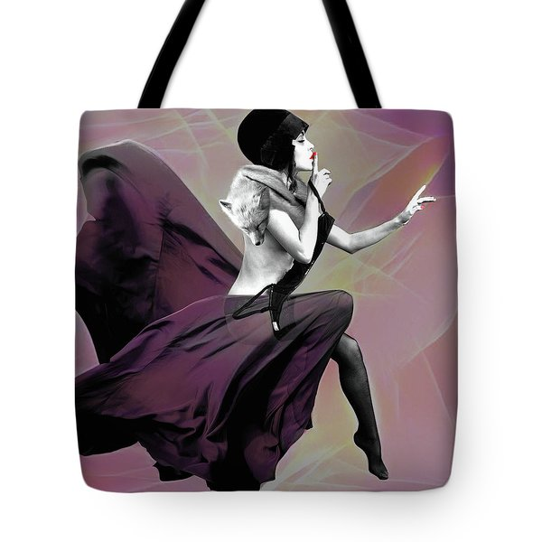 Tote Bag featuring the mixed media The Unkeepable Secret by Susan Maxwell Schmidt
