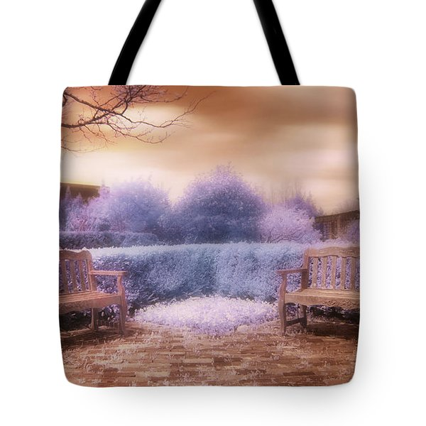 The Unseen Light Tote Bag