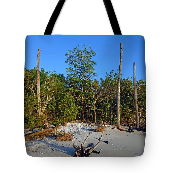 The Unspoiled Beauty Of Barefoot Beach In Naples - Portrait Tote Bag