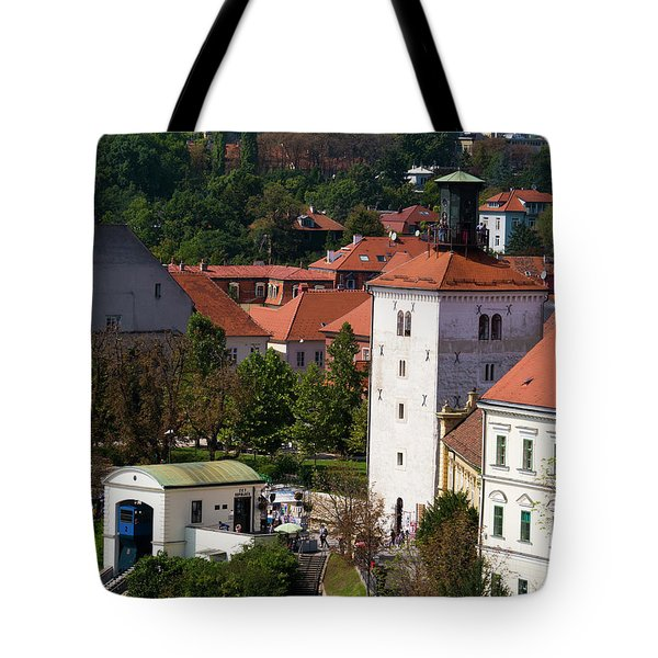 The Upper Town Tote Bag by Rae Tucker
