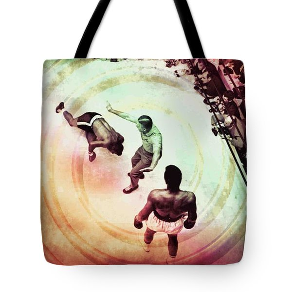 The Upset Tote Bag by Allen Beilschmidt