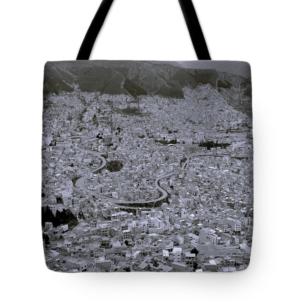 The Urban City Tote Bag by Shaun Higson