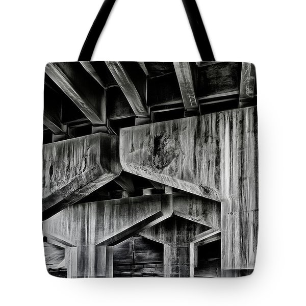 Tote Bag featuring the photograph The Urban Jungle by Brad Allen Fine Art