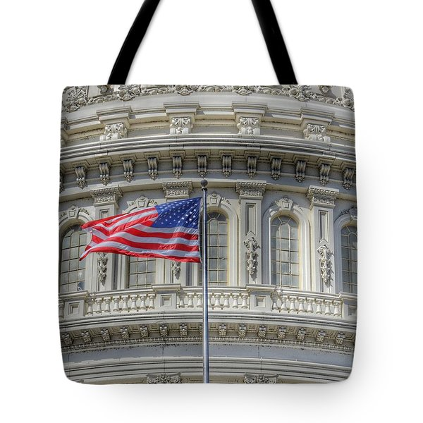 The Us Capitol Building - Washington D.c. Tote Bag