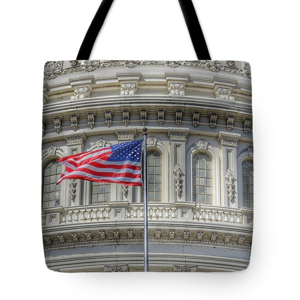 The Us Capitol Building - Washington D.c. Tote Bag