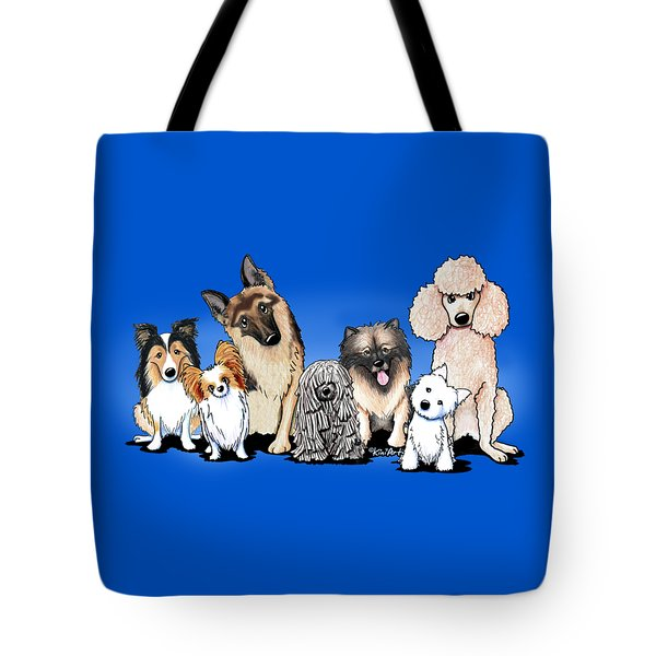 The Usual Suspects 3 Tote Bag by Kim Niles