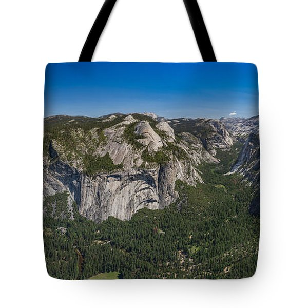 Tote Bag featuring the photograph The Valley And Four Falls by Phil Abrams