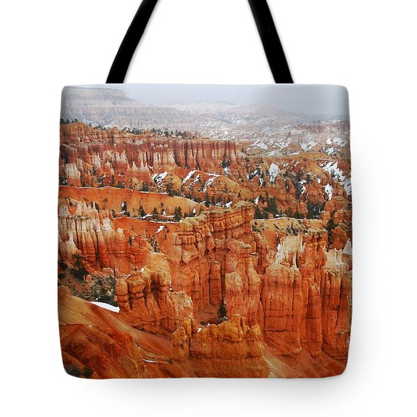 The Valley Of Hoodoos Tote Bag