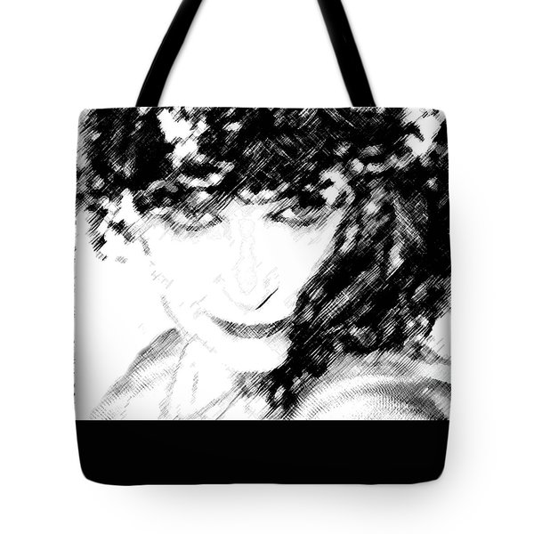 Tote Bag featuring the photograph The Vamp by Ellen O'Reilly