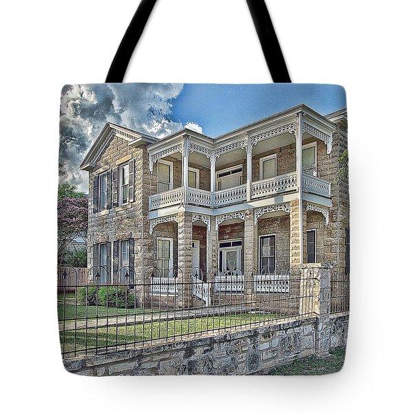 Van Der Stuken House Tote Bag