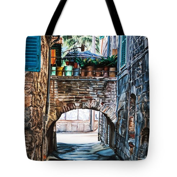The Vase Arch Tote Bag