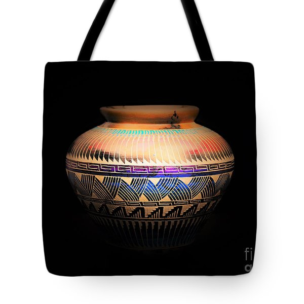 The Vase Of Joy Tote Bag by Ray Shrewsberry