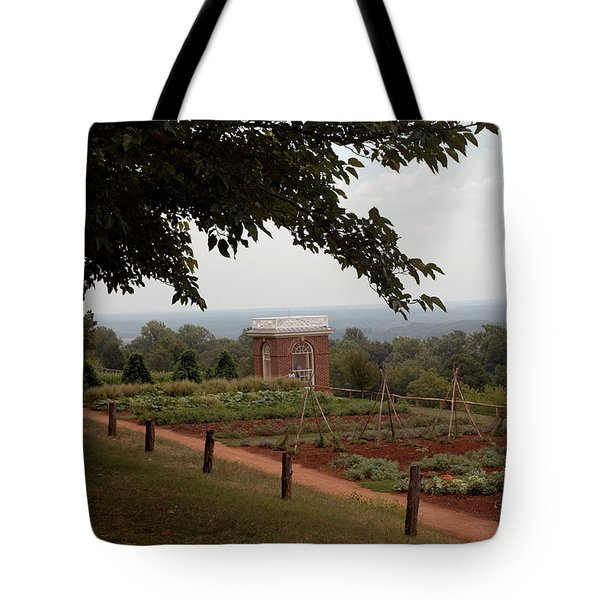 The Vegetable Garden At Monticello Tote Bag