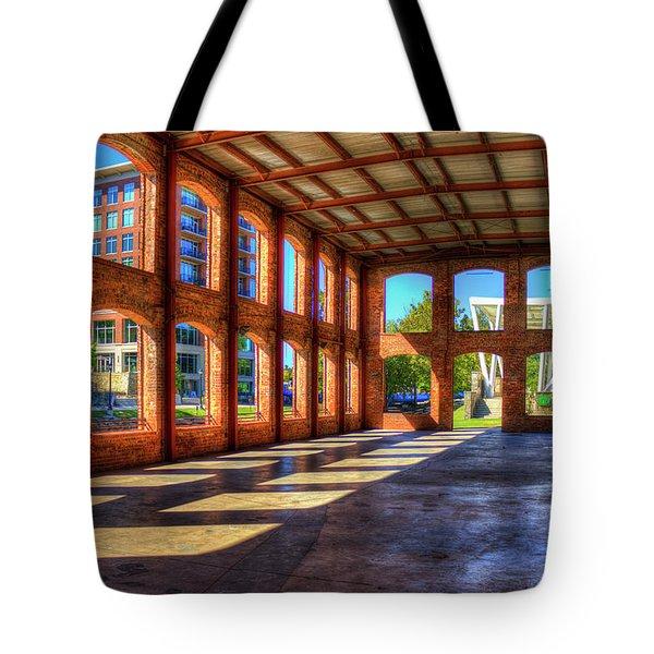 The Venue Old Mill Wedding Venue Reedy River South Caroline Art Tote Bag