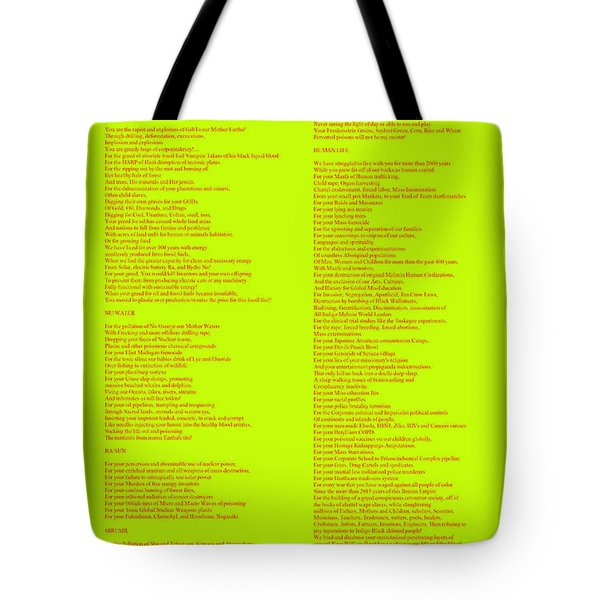 The Verdict Tote Bag