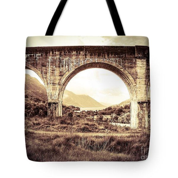 The Viaduct And The Loch Tote Bag