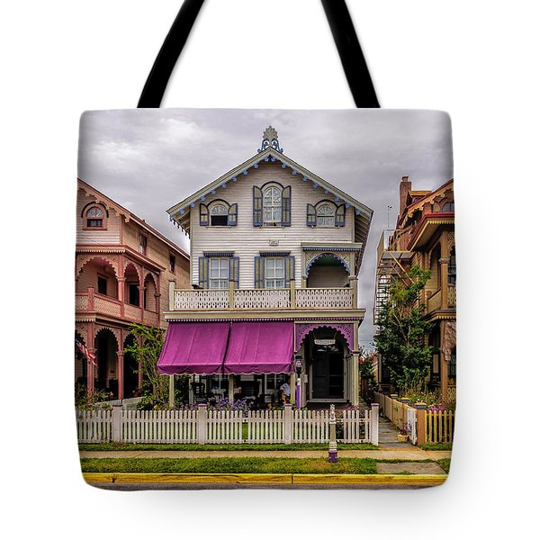 Tote Bag featuring the photograph The Victorian Style  by Louis Dallara