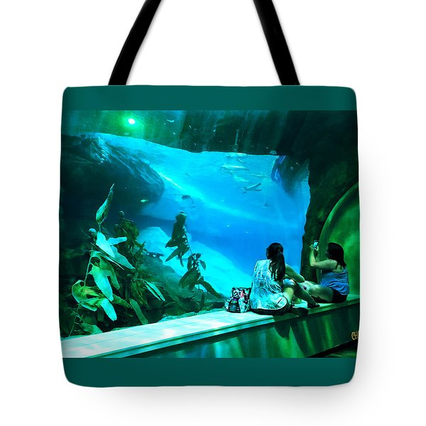 The View Down Under Tote Bag