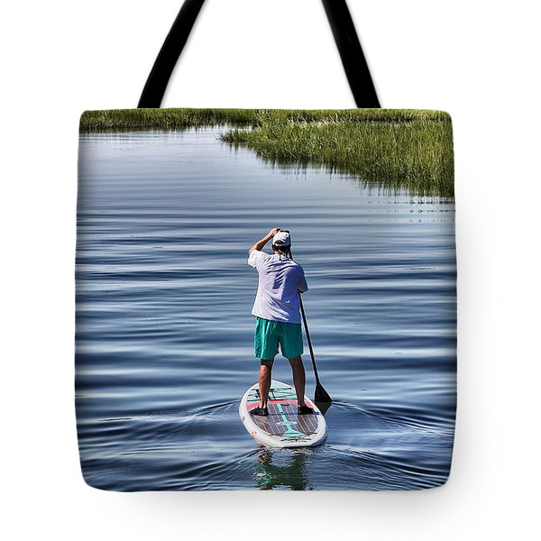 The View From A Bridge Tote Bag