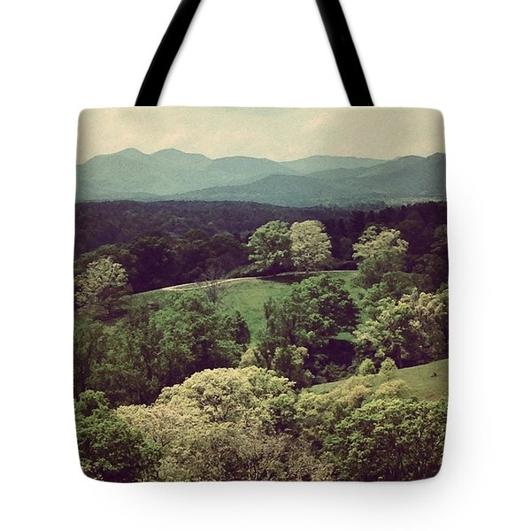 The View From Biltmore Tote Bag