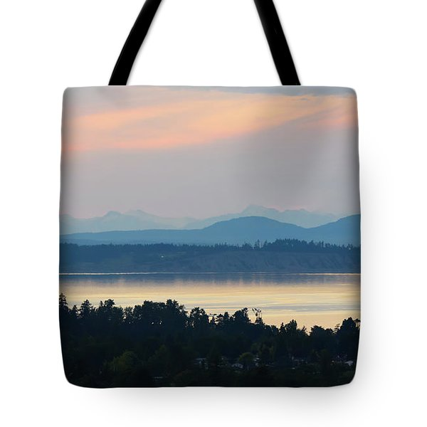 The View From Mt. Tolmie Tote Bag