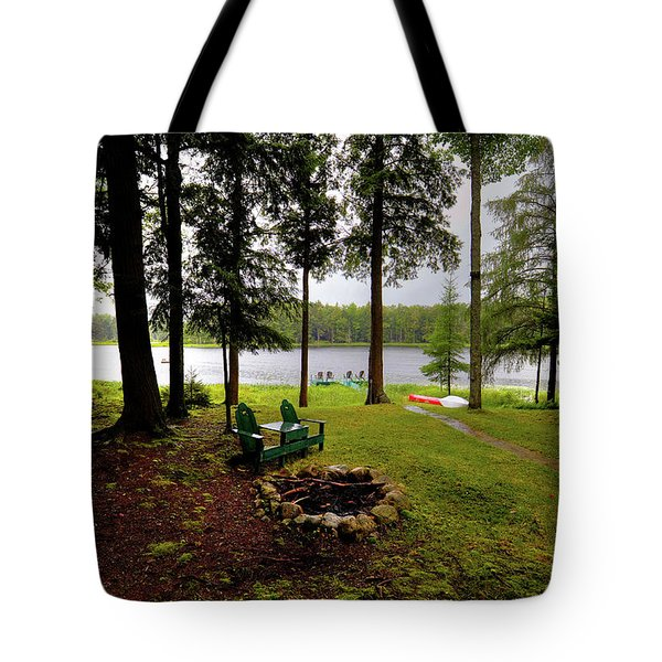 Tote Bag featuring the photograph The View From Northern Comfort by David Patterson