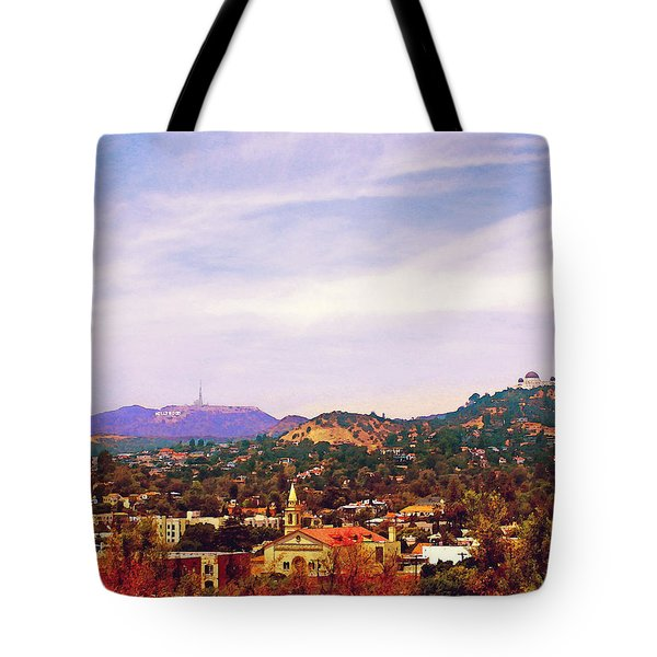 The View From Olive Hill Tote Bag