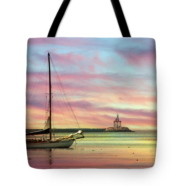 The View From Rocky Neck Tote Bag