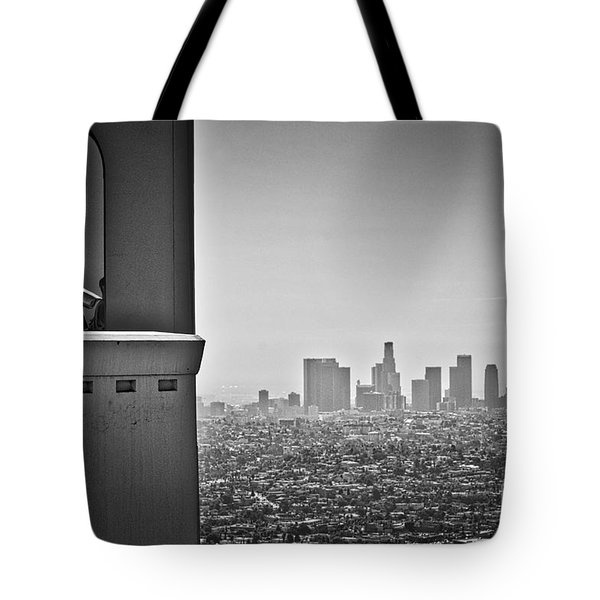 Tote Bag featuring the photograph The View From The Observatory by Kirt Tisdale