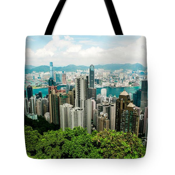 The View From The Peak Tote Bag