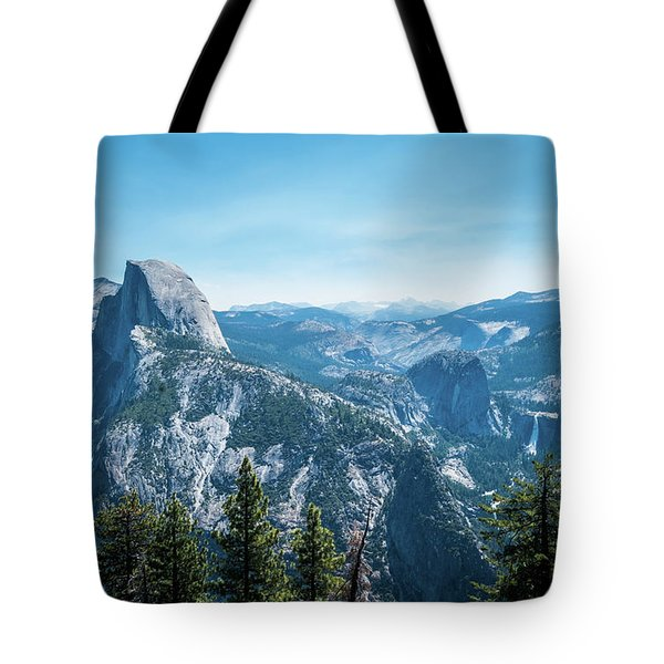 Tote Bag featuring the photograph The View- by JD Mims