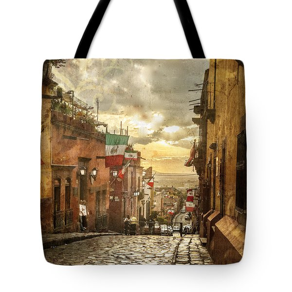 The View Looking Down Tote Bag