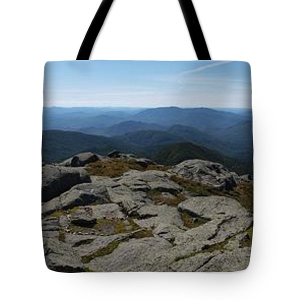 The View North From Mt. Marcy Tote Bag