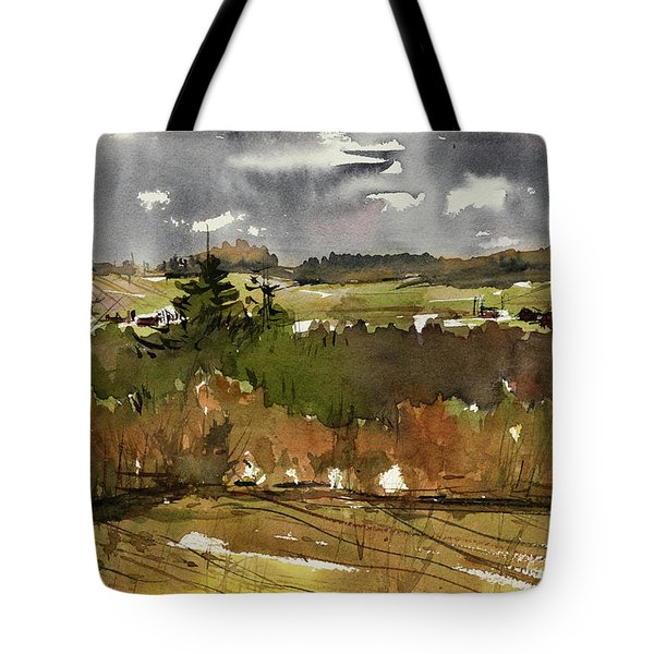 The View On Burlingame Road Tote Bag