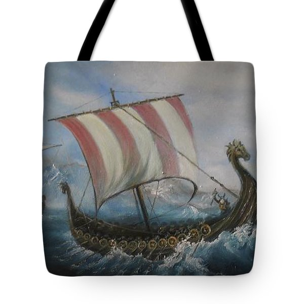 The Vikings Tote Bag
