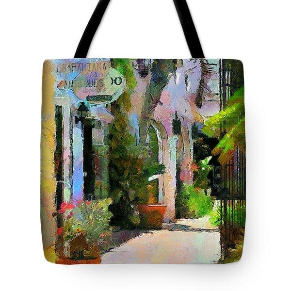The Villa Tote Bag