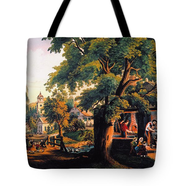 The Village Blacksmith Tote Bag by Granger