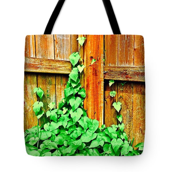 The Vine - No.6275 Tote Bag