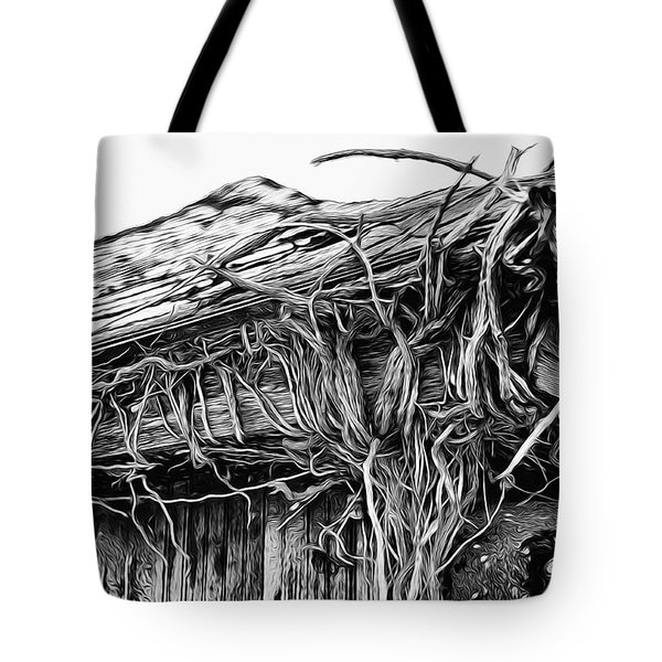 The Vines Awaken Tote Bag