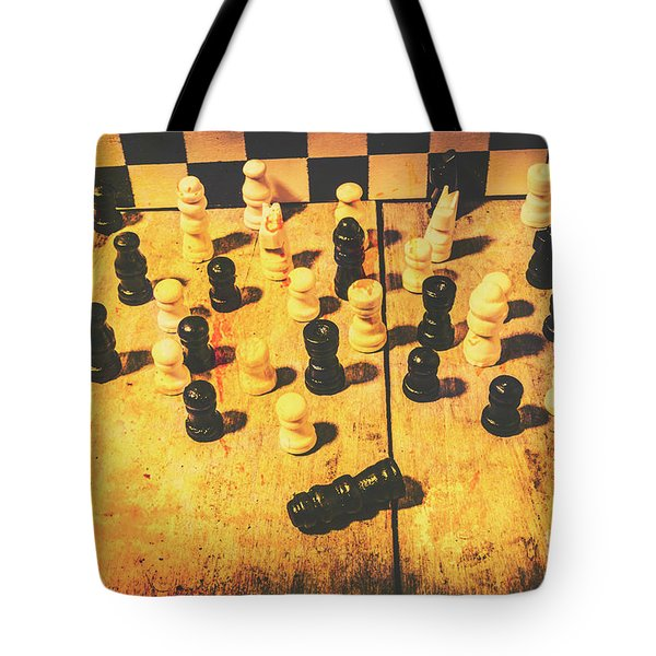 The Vintage End Game Tote Bag